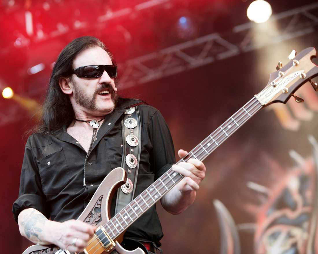Lemmy Kilmister på Metalltown festivalen vid Frihamnspiren, Göteborg 2006.