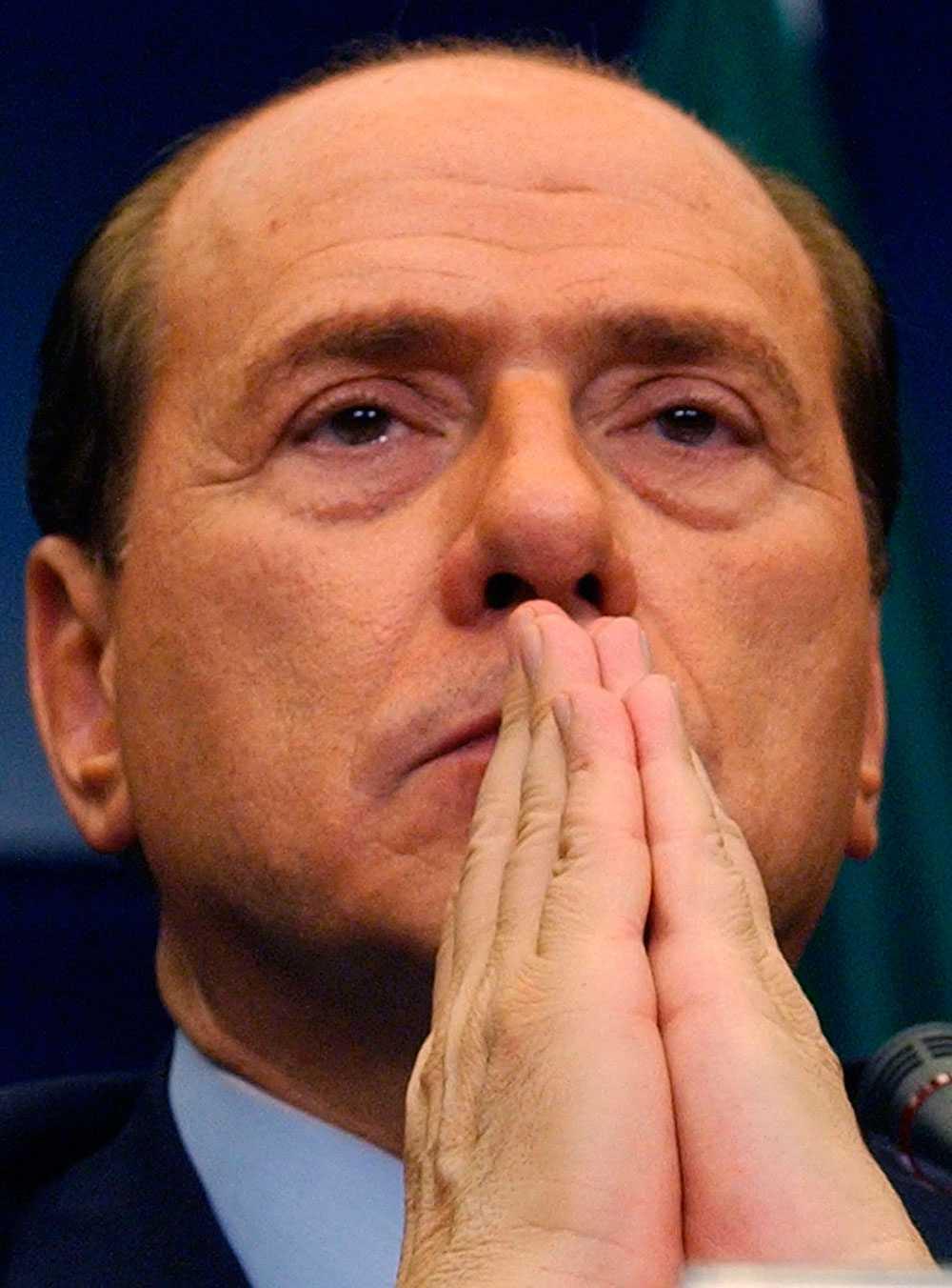 Italiens förre premiärminister Silvio Berlusconi.