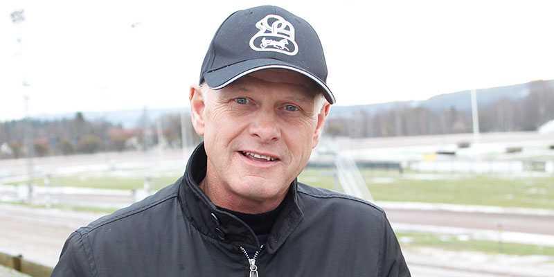 Åke Svanstedt kommer till Sverige för att köra Elitloppet.