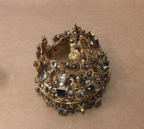 Karl IX begravningskrona.