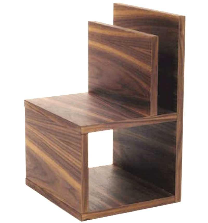Väggfast valnöt. Enkelt sängbord i valnöt att hänga på väggen, Länna möbler, 2105 kr.