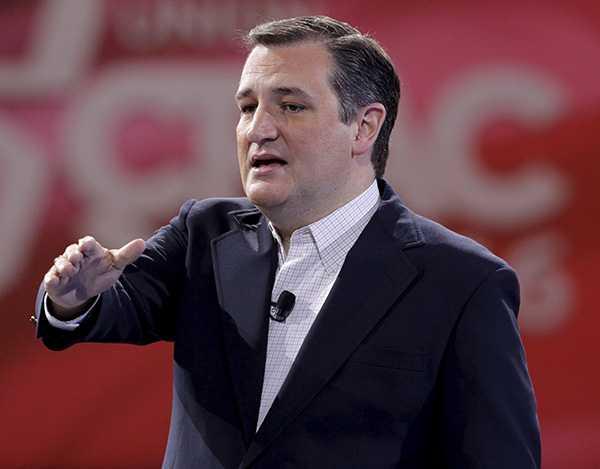 TRUMP-UTMANARE Ted Cruz.