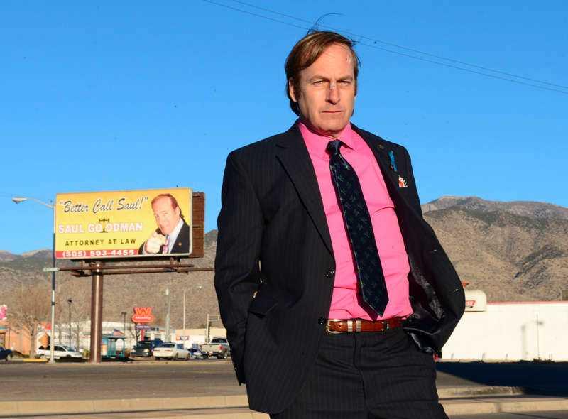 """Saul Goodman var en så populär karaktär i """"Breaking bad"""" att han fick en egen serie - """"Better call Saul""""."""