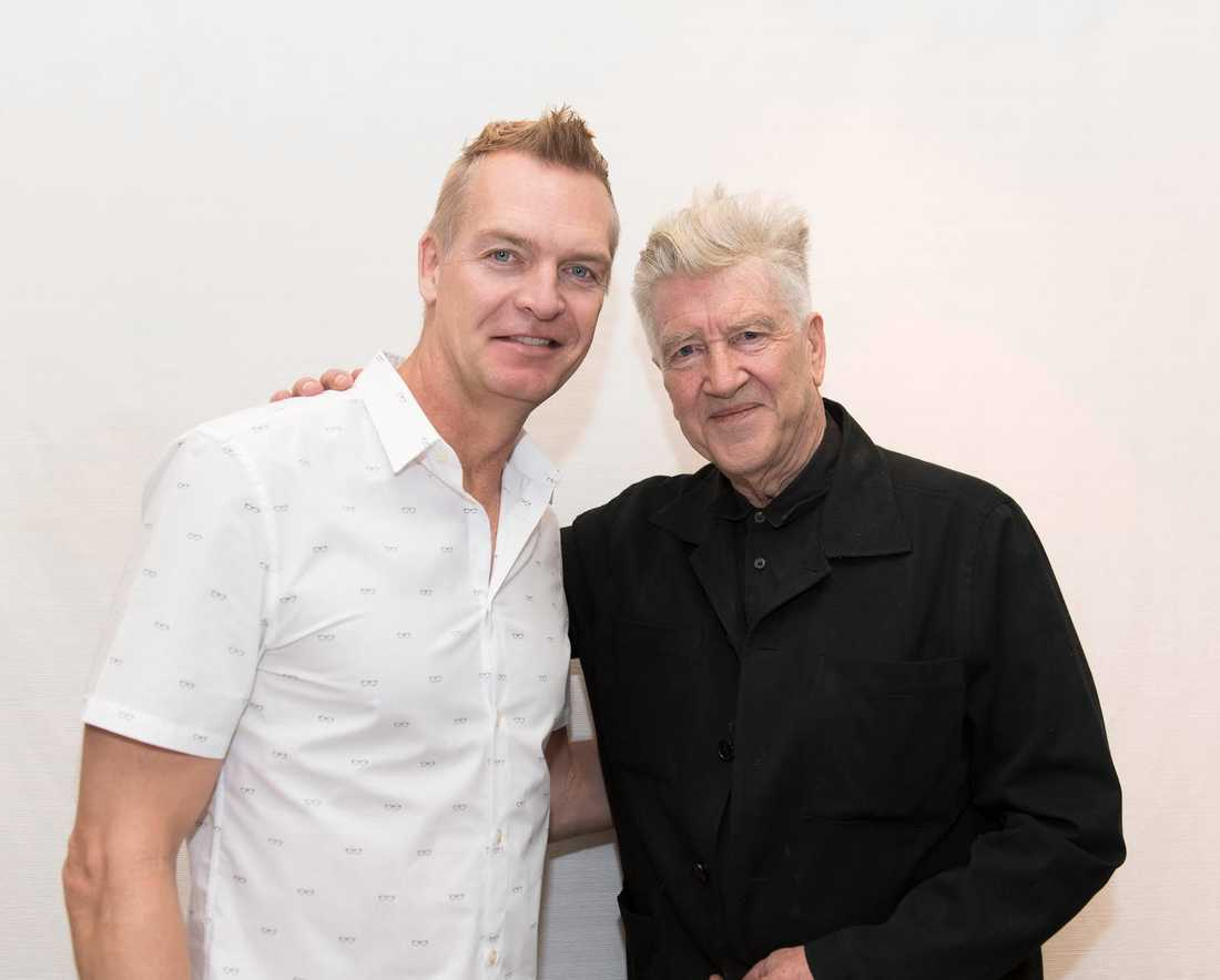 Nöjesbladets Magnus Sundholm träffar David Lynch