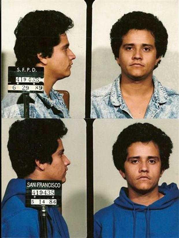 """""""El Mencho"""" som ung, bilden tagen av polis."""