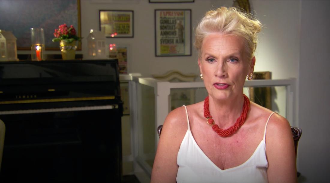 """""""Jag slängde ut honom"""", säger Hollywoodfrun Gunilla Persson."""