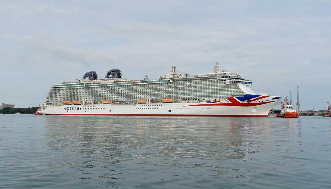 Britannia är 330 meter lång, 15 meter kortare än Anthem of the Seas, som blir 2015 års längsta nybygge.