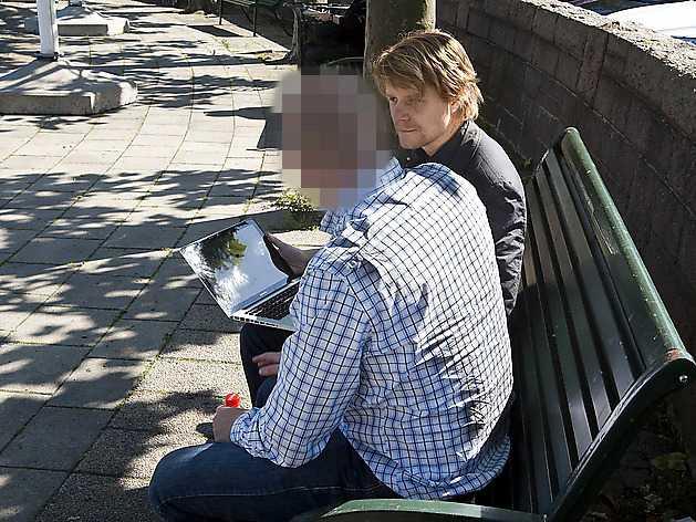 KONFRONTERAD Aftonbladets reporter med landstingsdirektören.