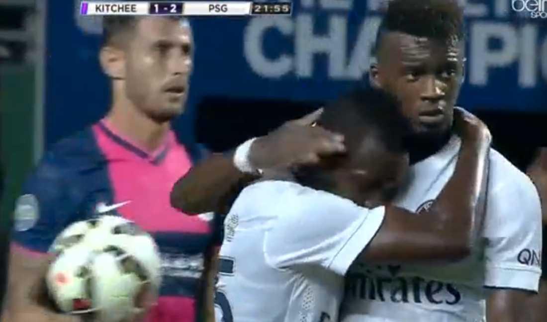 Hervin Ongenda satte 2-1 för PSG.