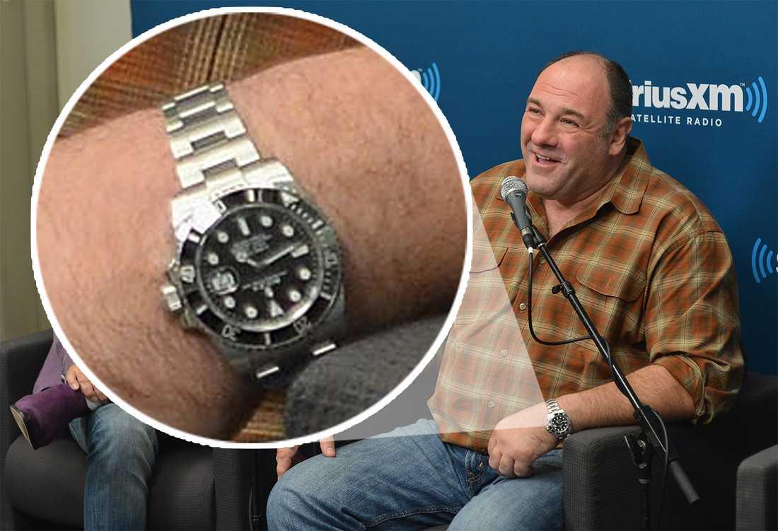 Skådespelaren James Gandolfini dog av en hjärtattack i Italien – nu visar det sig att hans dyrbara klocka stals efter kollapsen i badrummet.