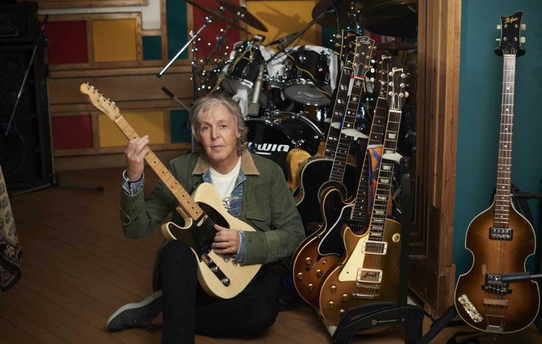 Paul McCartney har spelat varenda ton som hörs på nya albumet själv.