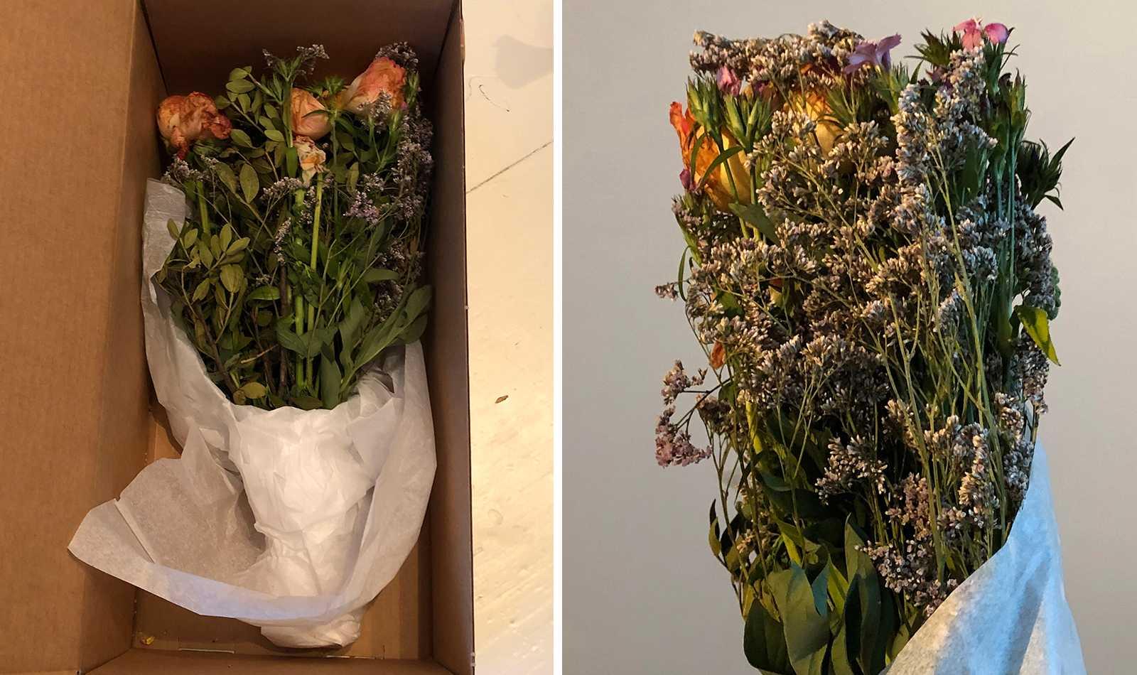 istället för blommor