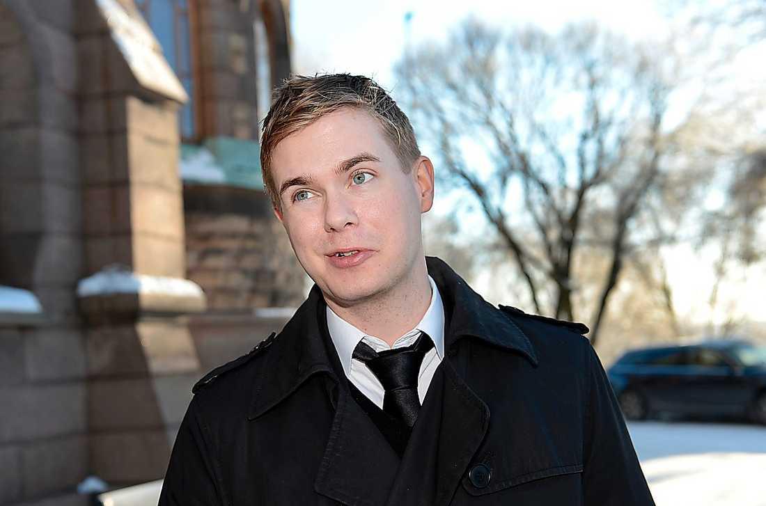 Språkrör Gustav Fridolin (Mp) har vistats mycket i Fryshuset som tonåring och lärde då känna Anders Carlberg. – Han var en outtröttlig kämpe, säger Gustav Fridolin