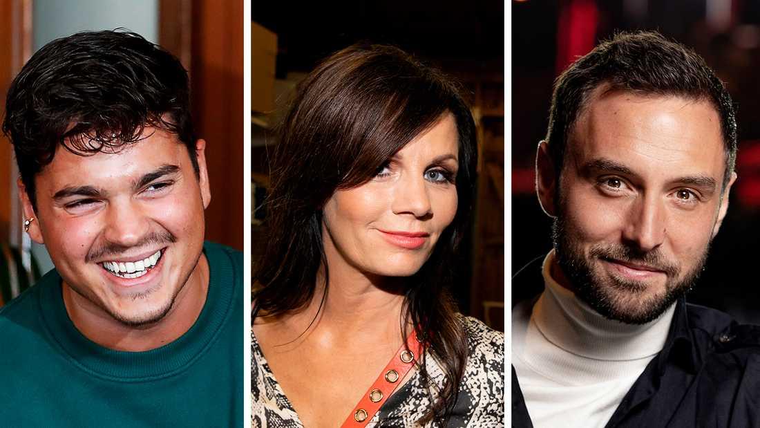 Oscar Zia, Lena Philipsson och Måns Zelmerlöw är redan klara som programledare.