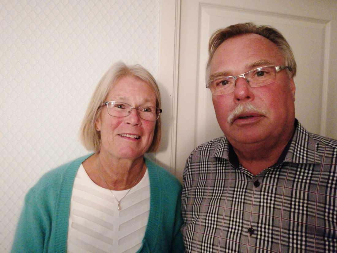 Gunnar och Eva Ulander.