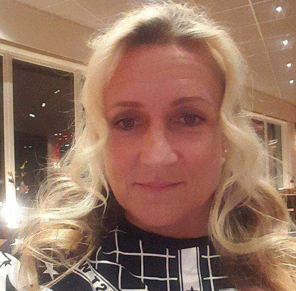 Ann Ögren blev vittne till älgen som hoppade in på förskolan.