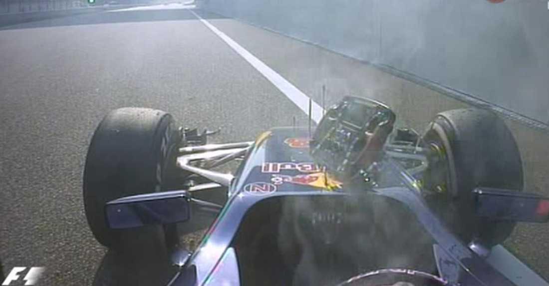 Verstappen tvingades bryta med bara tre varv kvar. Det innebar att Ericsson klättrade upp till tiondeplats och tog en VM-poäng.
