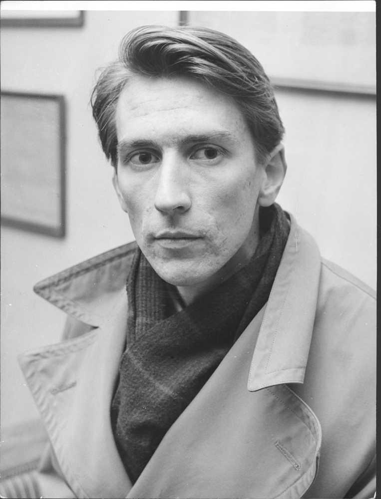 En bild från 60-talet när han belönades med Aftonbladets författarpris