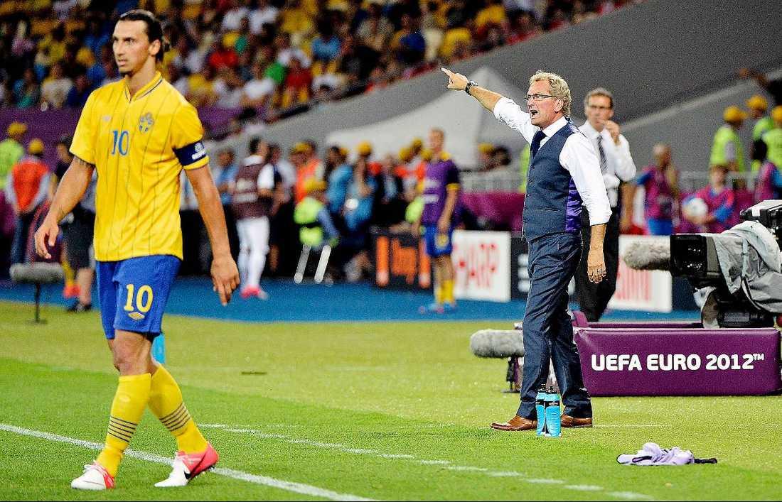 Ville se Zlatan spela.