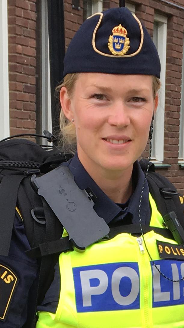 Hilda Axelsson, Hilda Axelsson, utredare på demokrati- och hatbrottsgruppen vid polisen i region väst.