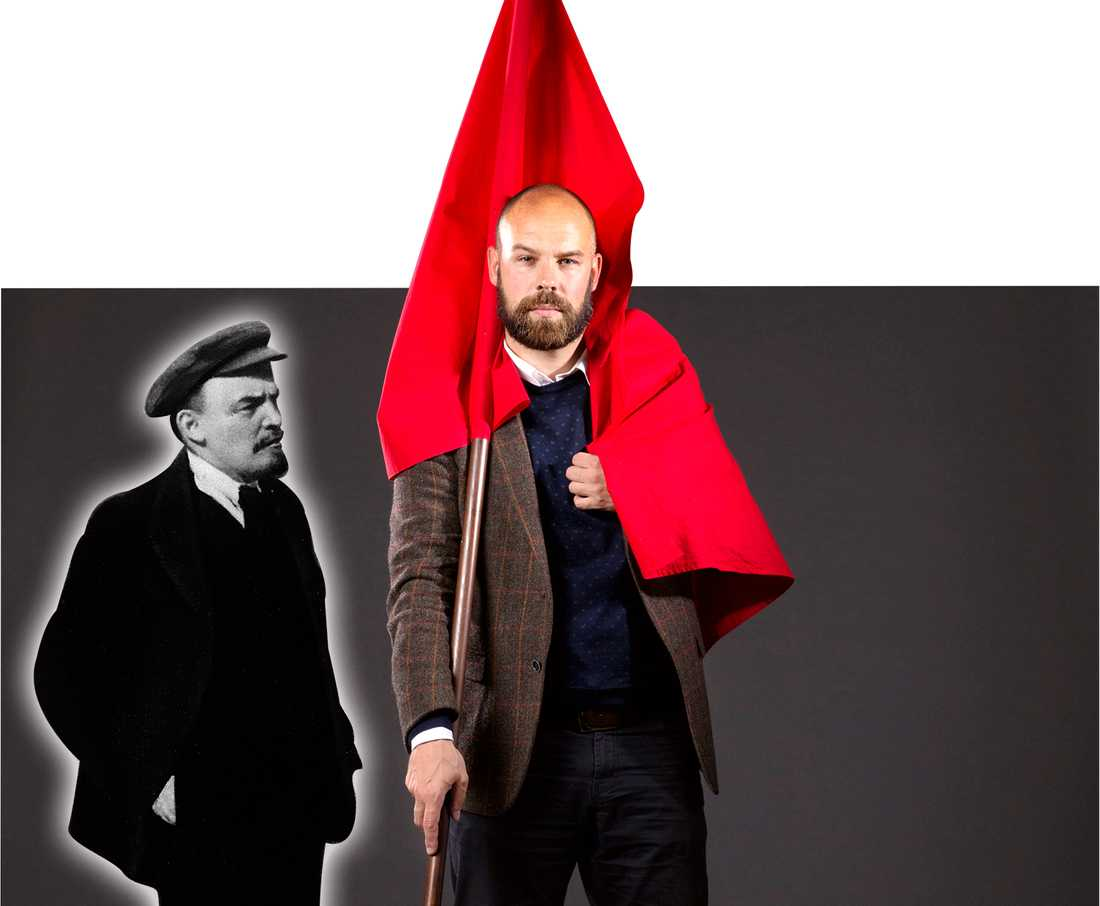 När Daniel Suhonens bok om Håkan Juholt släpptes var det som om Lenin kommit till stan, skriver Göran Greider. Foto: Thomas Karlsson (bilden är ett montage)