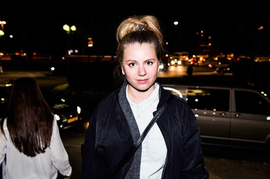 Nöjesbladets Zandra Lundberg på plats.