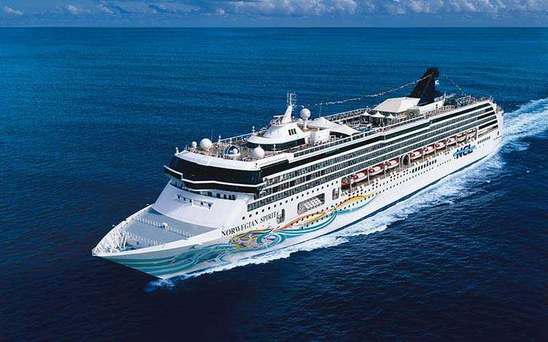 Norwegian Spirit kryssar i både Karibien och Medelhavet