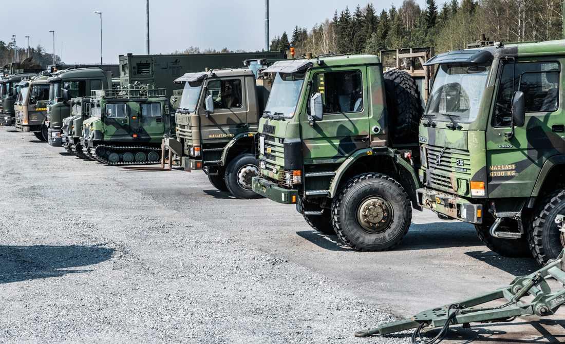 Det civila försvaret i Sverige är just nu under uppbyggnad. Som en del av det ska anställda i kommuner och regioner krigsplaceras under 2020. Arkivbild.