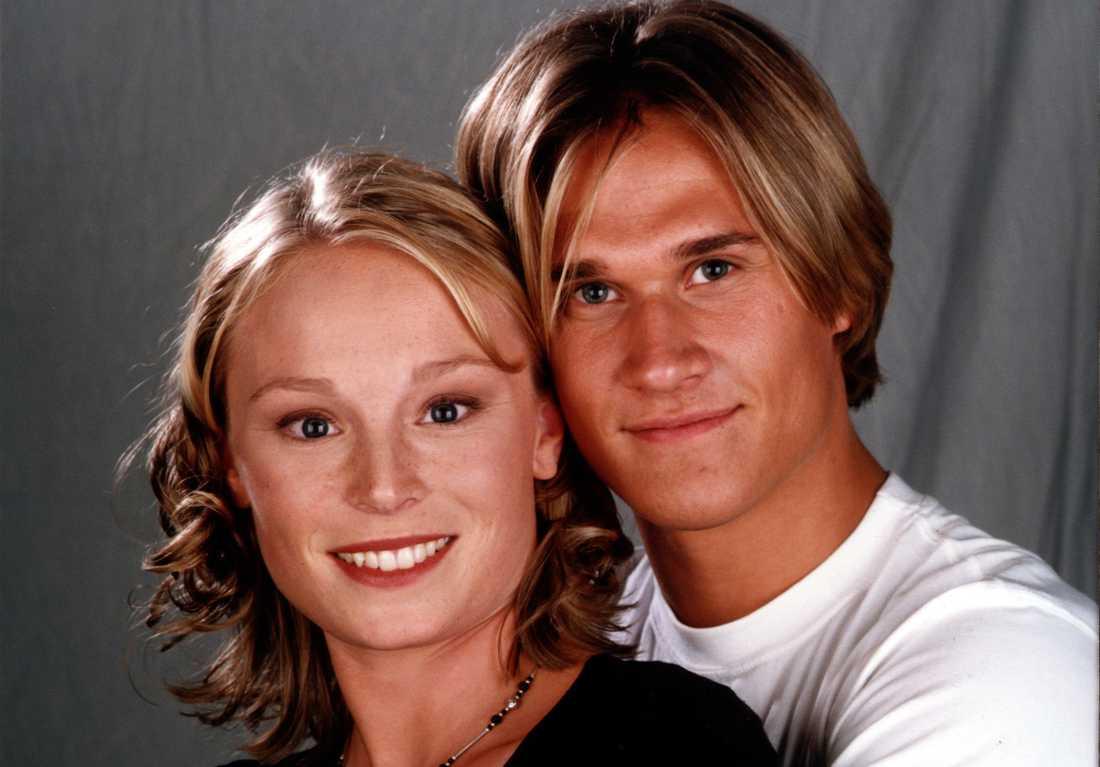 Lina Pleijel och Bengt Dahlqvist spelade huvudrollerna Sandra och Daniel.