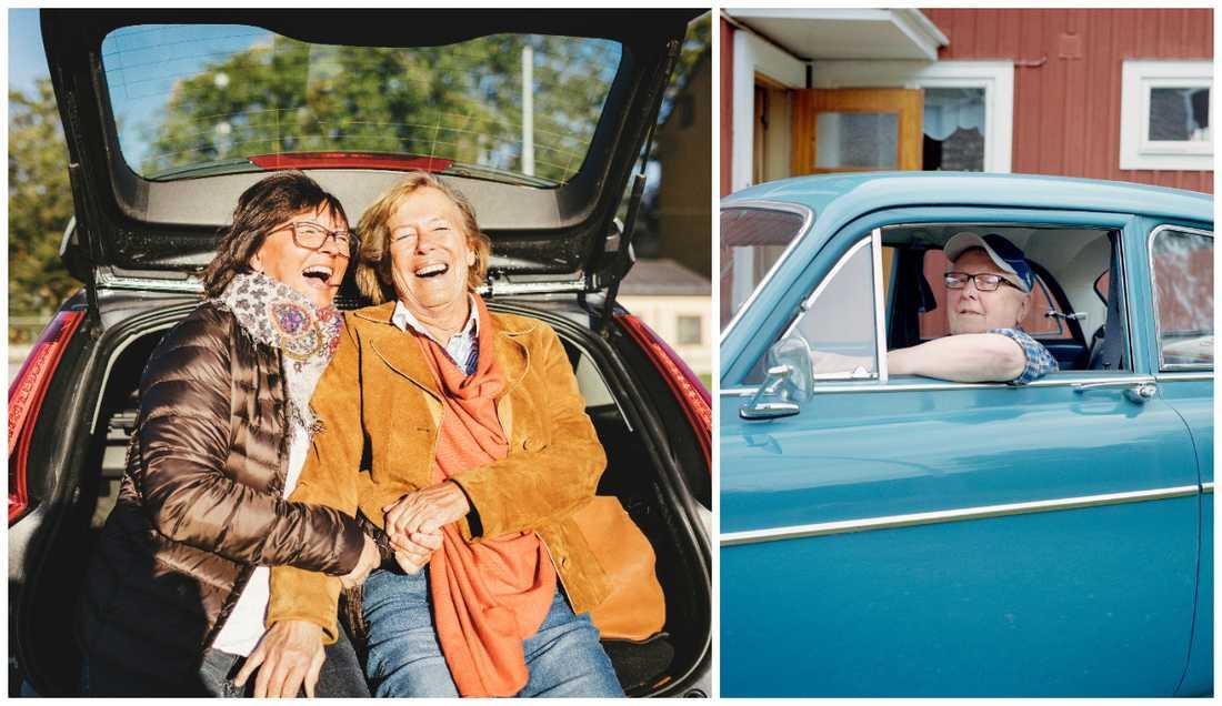 Vad du kör för bil påverkar hur folk uppfattar dig. Bilderna är genrebilder.