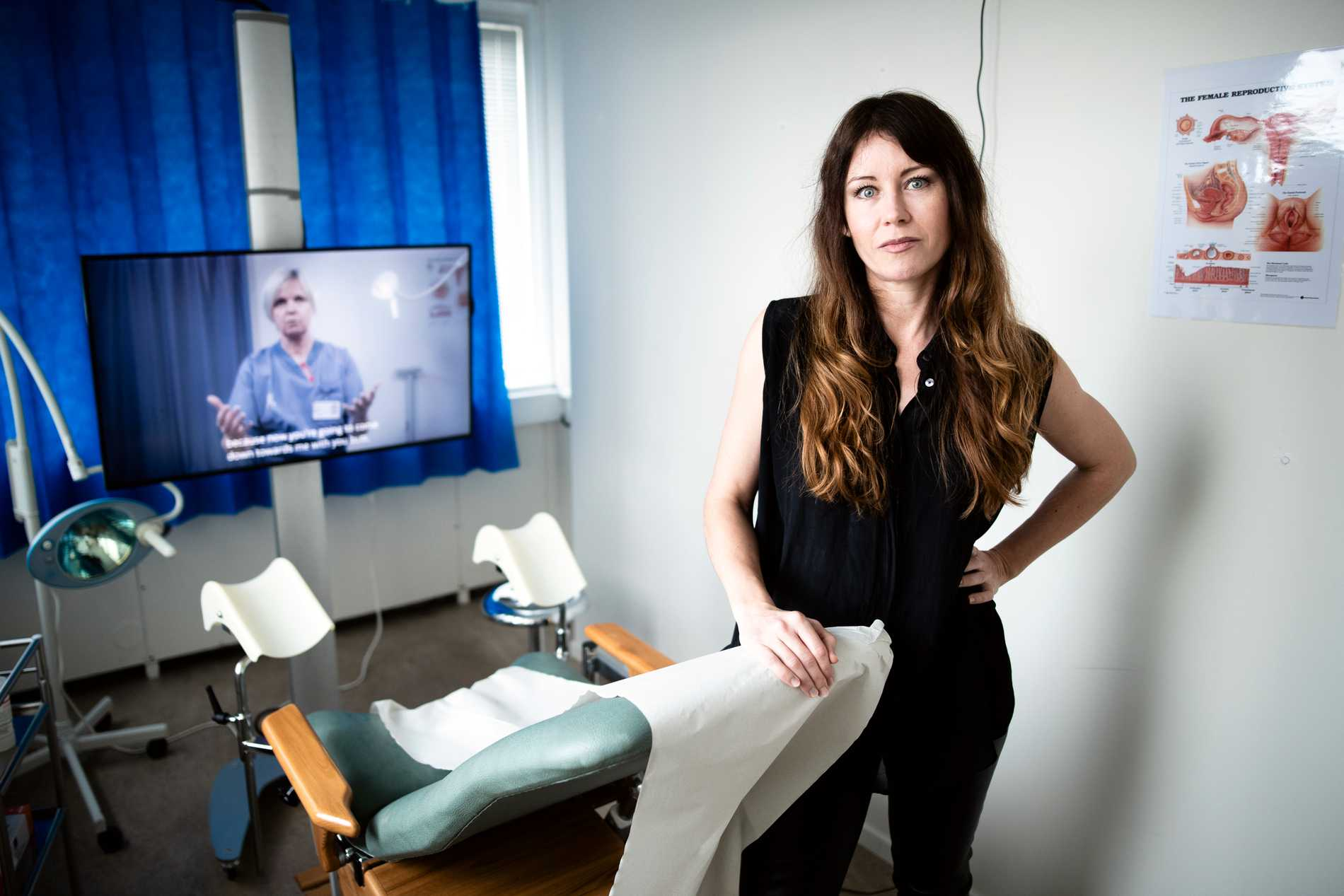 """Anna Odell, konstnär och regissör, har gjort årets vinjettfilm för Göteborg Film Festival. Hon har även skapat den interaktiva utställningen """"Undersökningen""""."""