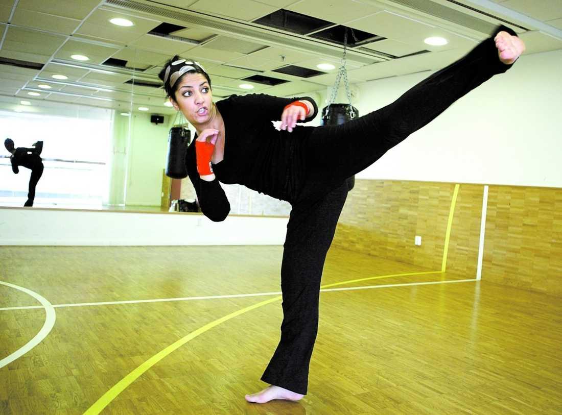 Lama Abu-Iseifan ser fler och fler tjejer träna kampsport.