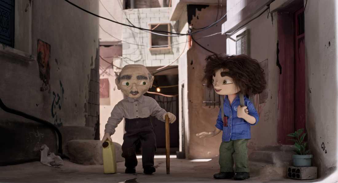 Gammelfarfar Sidi och Wardi.