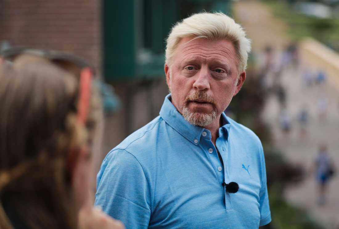 Boris Becker 2018.
