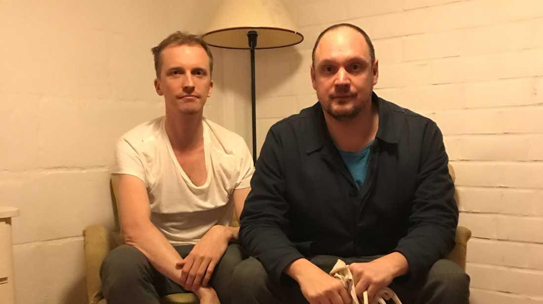 Ola Söderholm och Jonatan Unge