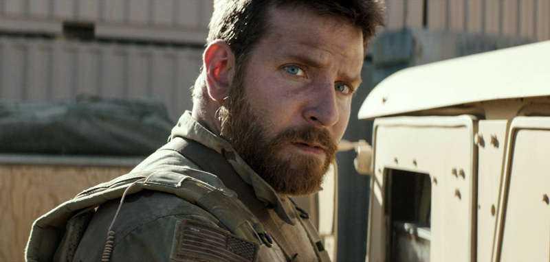 """""""American sniper"""" med Bradley Cooper som prickskytten Chris Kyle."""