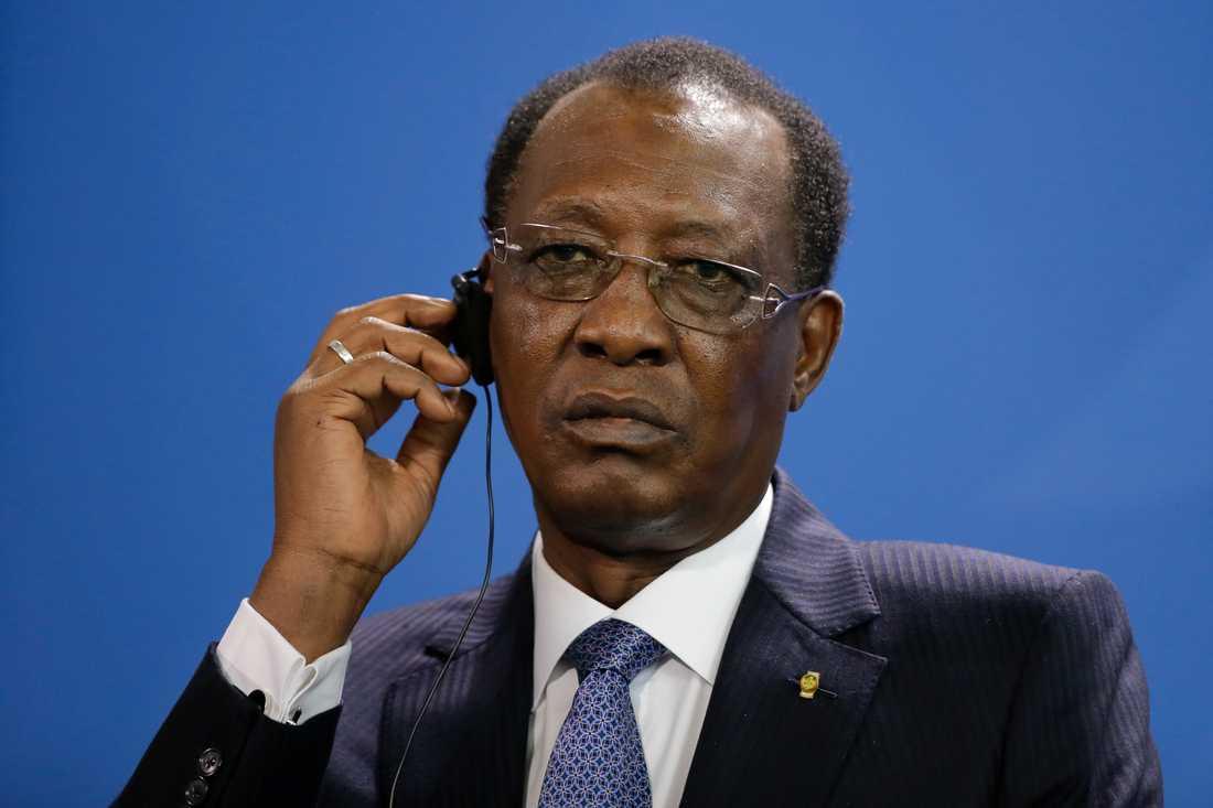 En av den tchadiske presidenten Idriss Deby Itnos största motståndare har anhållits i Frankrike för brott mot mänskligheten. Arkivbild.