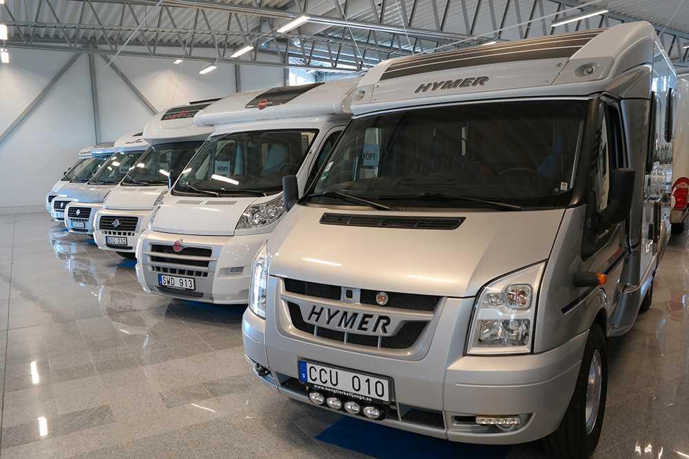 Skatten på nya husbilar höjdes 1 juli i år.