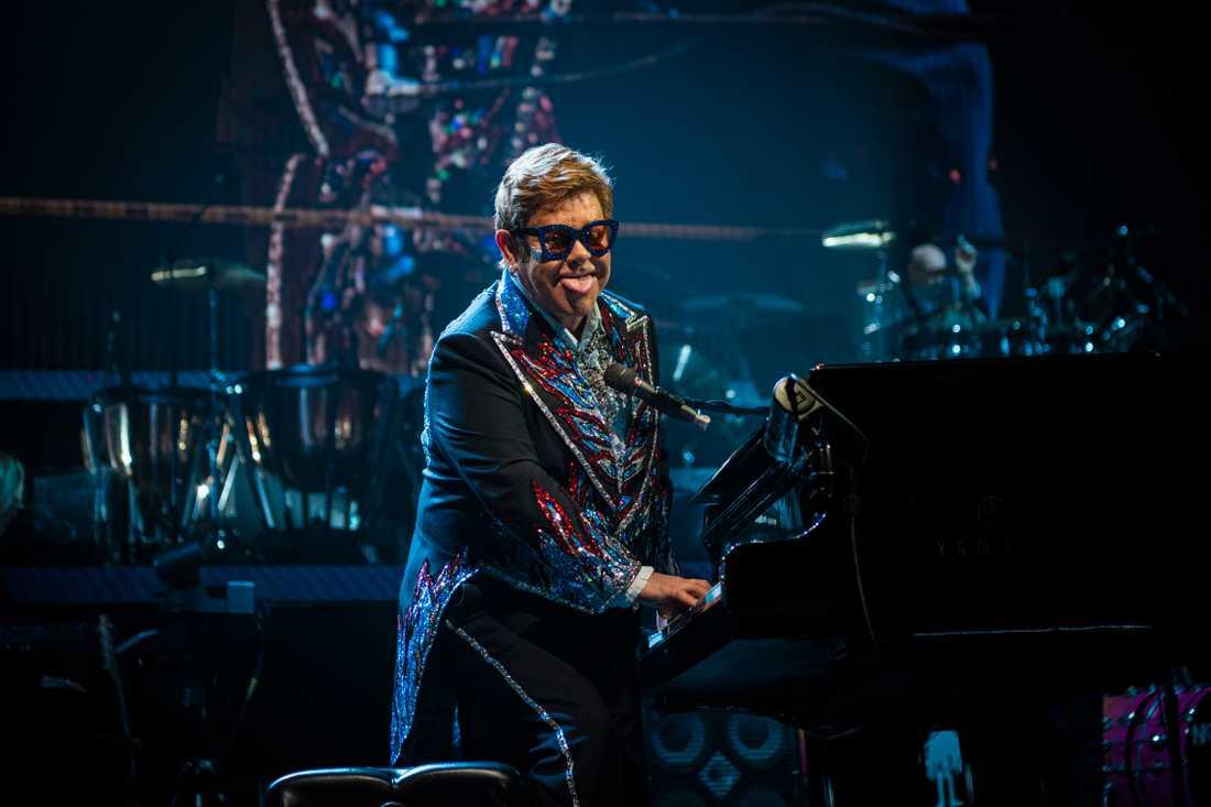 Elton John var på lysande humör under sin sista spelning någonsin i Göteborg.