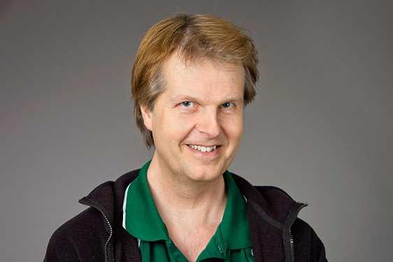 Patrik Norqvist, rymdfysiker vid Umeå universitet.