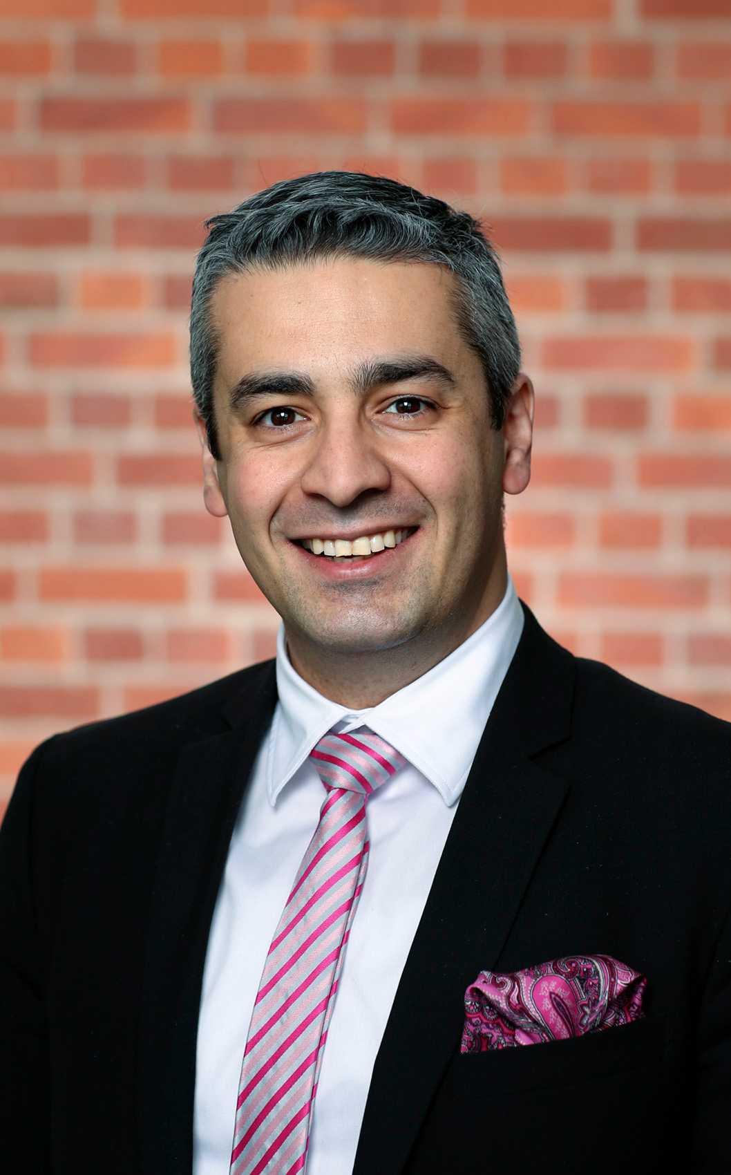 Khashayar Farmanbar (S), kommunalråd i opposition i Nacka.