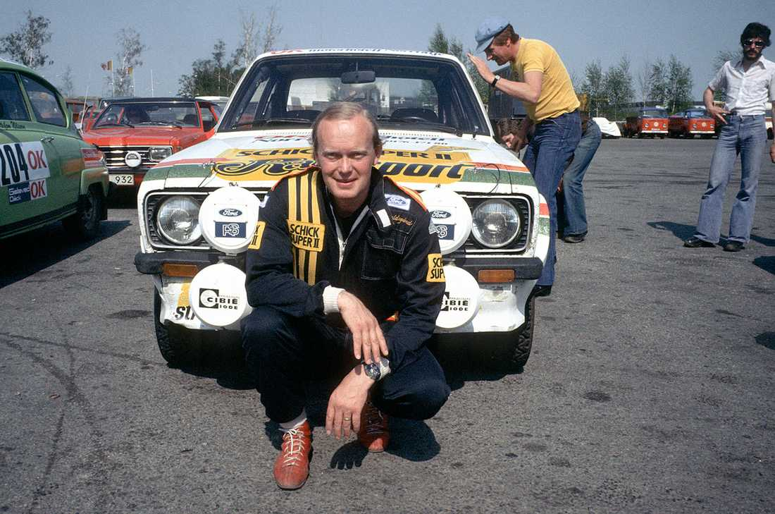 Björn Waldegård 1985.