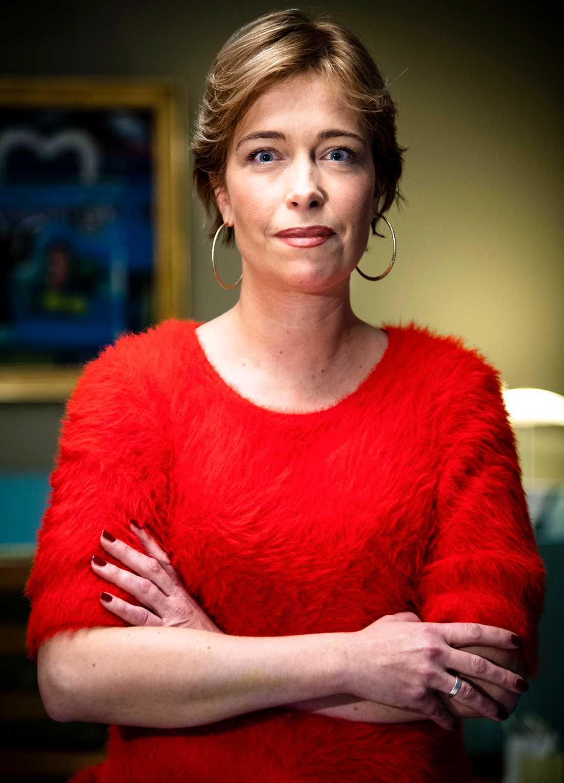 Annika Strandhäll, socialförsäkringsminister och ordförande i Pensionsgruppen.