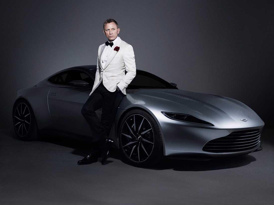 Daniel Craig och Aston Martin DB10