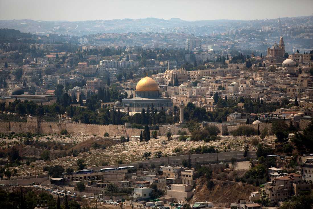 Tempelberget i Jerusalem. Arkivbild.