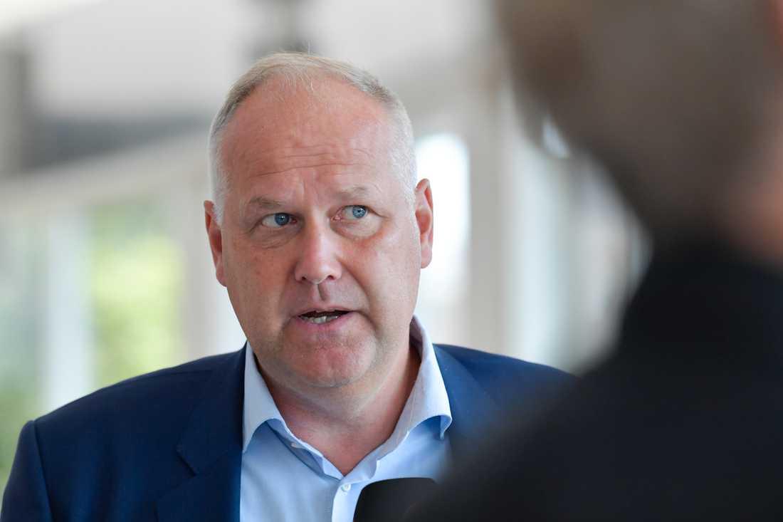 Vänsterpartiets partiledare Jonas Sjöstedt. Arkivbild.