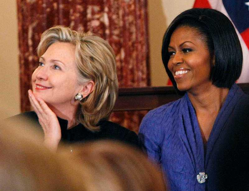 Hillary Clinton är Madonnas favorit.