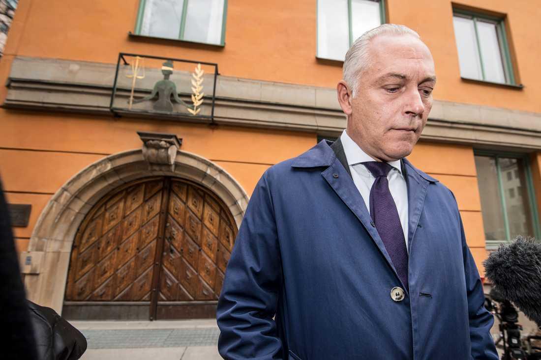 Akilovs försvarsadvokat Johan Eriksson.