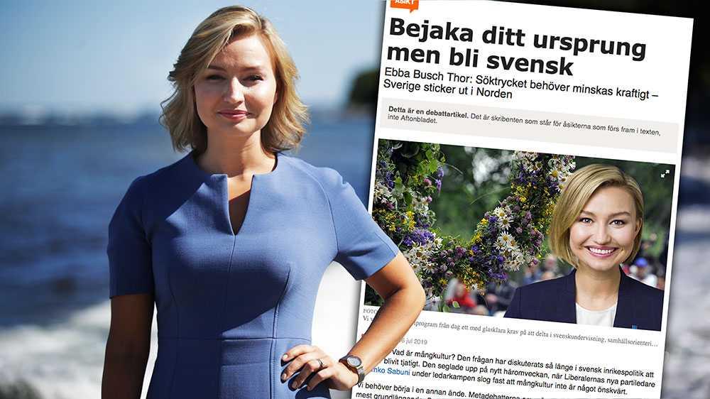 Låt oss nu lämna missförstånden bakom oss. Låt oss prata om riktiga problem som minoriteter möter i Sverige i dag. Vi har bostadsområden där det är lättare att uttala stöd för IS än att vara homosexuell. Där det råder en alternativ rättsordning och dit svensk lag inte når, skriver Ebba Busch Thor (KD).