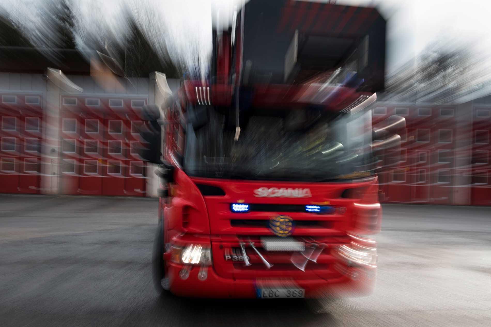 Polisen har inlett en förundersökning om misstänkt mordbrand efter en brand i Norrköping under natten. Arkivbild.